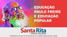 EDUCAÇÃO PAULO FREIRE E EDUCAÇÃO POPULAR - Curso de Extensão.